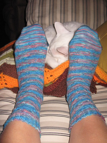 Frankensocks from the top