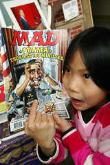 Obama the First 100 Minutes Mad Magazine 2-7-09