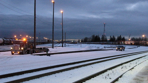 PoCo Station, one winter morning