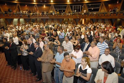 Publico Los Guaraguaos,. Foto de la produccion