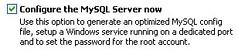 开始配置MySQL