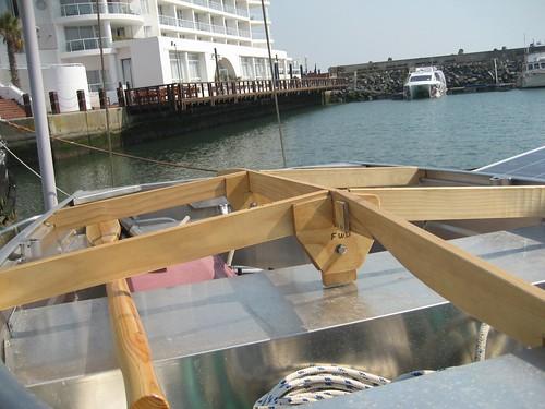 dinghy frame