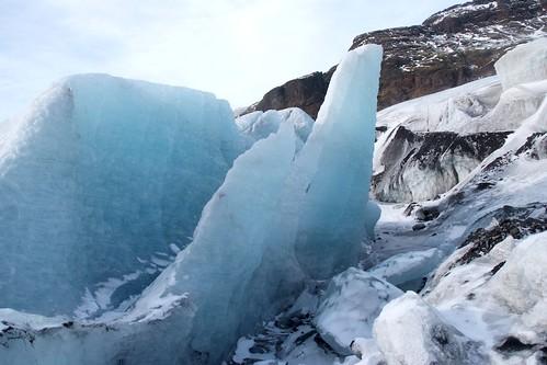 Glacial, mais ensoleillé