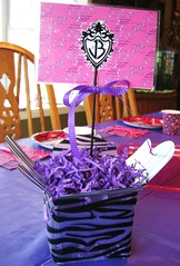 Jonas Brothers Table Centerpiece (Kid's Birthday Parties) Tags: birthday decorations party funky leopard centerpiece birthdaydecorations jonasbrothers jblogo tablecenterpiece partydecorations nickjonas kevinjonas joejonas jonasbrothersbirthday jonasbrothersparty jonasbrothersdecoration