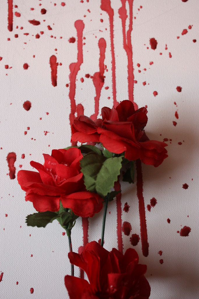 The worlds best photos by xchanttelx flickr hive mind taken xchanttelx tags red roses white black rose death bottle blood kill emo mightylinksfo