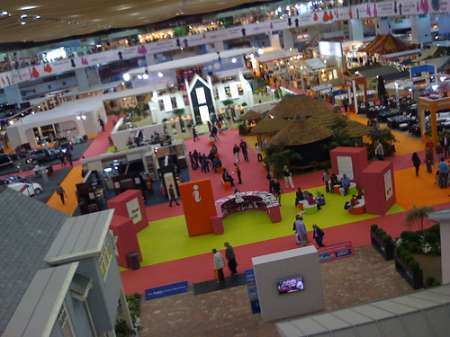 exhibit floor