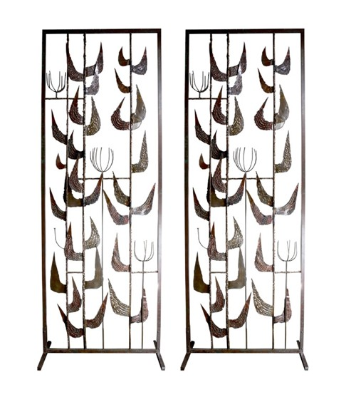 Pair of Room Dividers by Monteverdi Young 1950's, USA