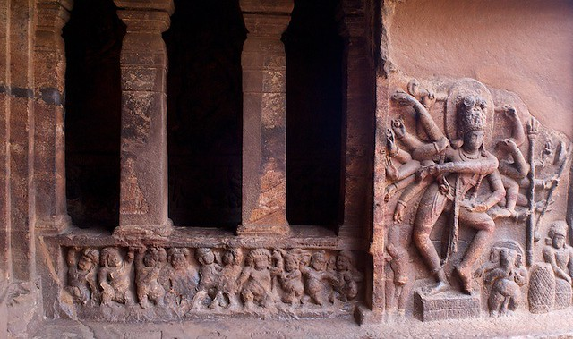 Cave carvings, Badami