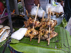 STREETFOOD (martyn61) Tags: travel thailand frog grilled streetfood
