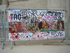 tagged (nattynattyboom) Tags: show paris art graffiti tag au grand exhibition collection exposition palais gallizia