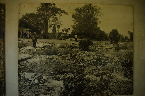 Scene of the Killing Fields excavation.