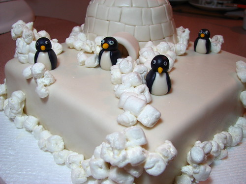 Igloo and Penguins