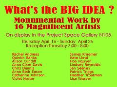 Big Idea (Jennifer Hartley) Tags: idea big whats