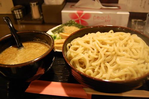 六弦のつけ麺