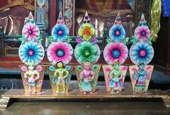 Swayambhunath, Katmandu, Nepal (balavenise) Tags: nepal shrine god buddha prayer religion buddhism sugar offering katmandu sucre swayambhunath prire devnagari  flickrgiants ofrrandes