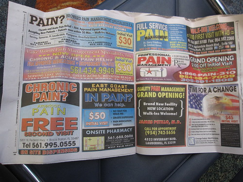 Drug Dealing Ads in the Miami New Times