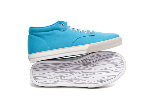 The Hundreds - Johnson Mid Canvas Caribbean Blue