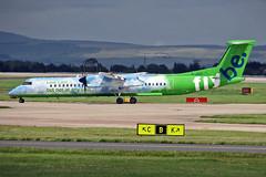 G-JEDP DHC 8Q-402 Flybe MAN 20-07-08 (PlanecrazyUK) Tags: man manchester egcc flybe dhc8q402 gjedp