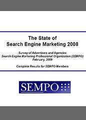 SEMPO Annual State of Search Survey 2008