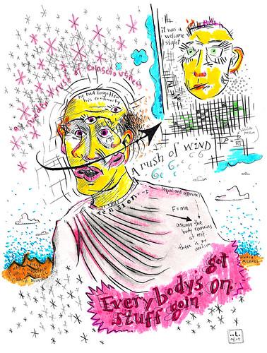 A Sudden Rush of Consciousness