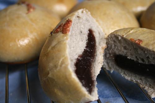 いちごあんパン(いちご酵母 前種)
