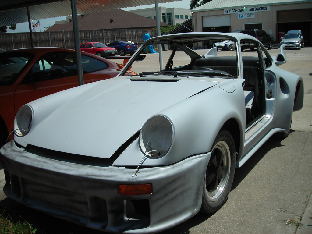 Porsche 911 wide body buildup