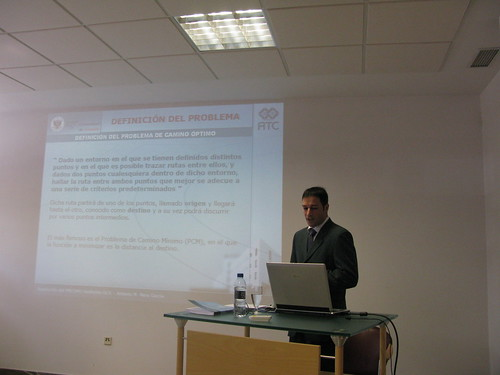 Presentación tesis doctoral Antonio Mora. Definiendo el problema de camino óptimo