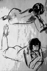gestures-20-April-2009 (Neil Tackaberry) Tags: life ireland irish woman art girl female pose studio naked nude artwork image drawing fineart fine neil class willow charcoal anatomy figure figuredrawing visual visualart limerick lifedrawing irishartist imageart raheen lifedrawingclass artimage neilt figuredrawingclass tackaberry roughwork willowcharcoal raheenstudio imageartist neiltackaberry irishvisualartist