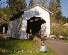 Coyote Creek (Battle Creek) Covered Bridge (RU4SUN2) Tags: history oregon coveredbridge lanecounty kissingbridge howetruss lanecountyoregon oregoncoveredbridges lanecountycoveredbridges