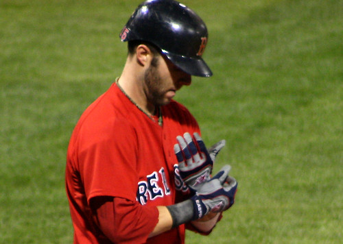Pedroia's hands by you.