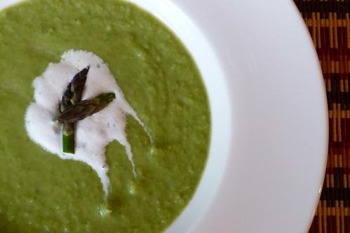 Asparagus-Mint Vichyssoise