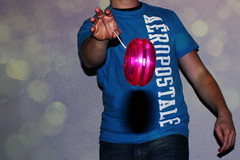 Yo-Yo Throw! (thisisbrianfisher) Tags: pink blue summer shirt fun toy fly play close brian yo tshirt fisher toss string strike float tee yoyo throw aeropostale bfish brianfisher aropostale thisisbrianfisher