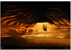 Luzbel cayendo / toma 3 - La tierra es tuya (Juan Camilo Bedoya Vargas) Tags: sky dark stars cool lucifer god angeles earth hell angels cielo end eden diablo hades begining dios demons tierra fealdad infierno maldad venganza creacion satanas knigt