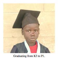 Phillip on graduation day