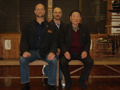Visiting Murakami Katsumi Sensei with My Teacher, John Hamilton