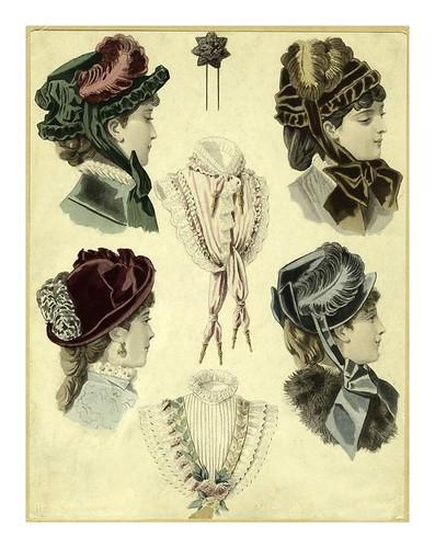 003- Sombreros de mujer siglo XIX
