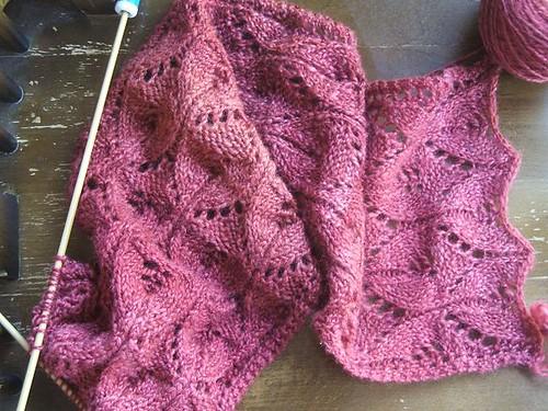 Oriel lace scarf