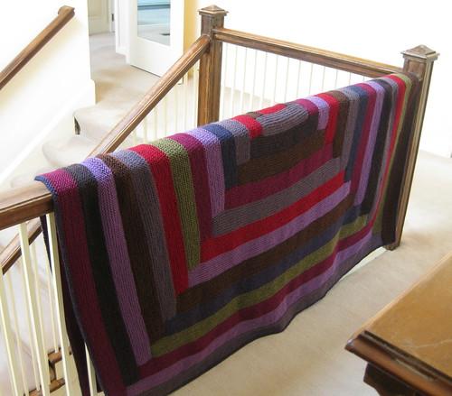 log cabin blanket #3