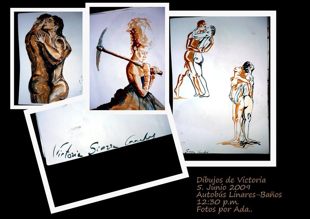 Dibujos de Victoria