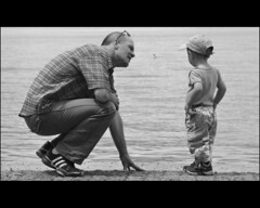 father & son ... (Dreamer7112) Tags: family friends portrait people bw man men childhood blackwhite nikon mario manuel lachen schwyz fatherson d300 obersee lakeofzurich nikond300 acaringtalk