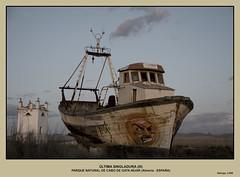 ÚLTIMA SINGLADURA III (Salvador Ruiz Gómez) Tags: españa paisajes andalucía spain barcos almería nikond80 parquenaturalcabodegataníjar vosplusbellesphotos