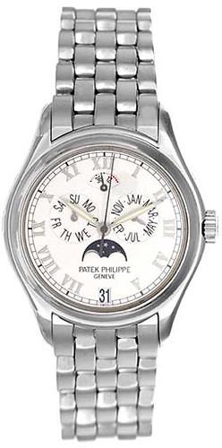 Patek Philippe 5036 G Annual Calendar Men's White Gold Watch - DeMesy 800-635-9006