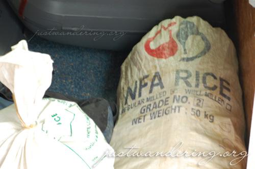 NFA Rice spotting in Laos