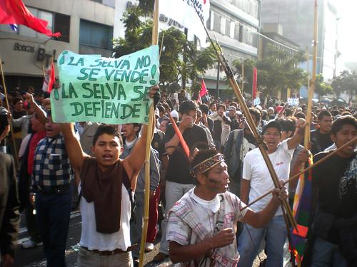 La selva y el pueblo se defienden por ALTERNATIVA PRENSA.