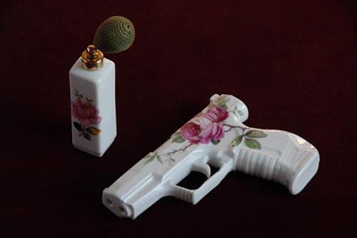 Porcelain pistol