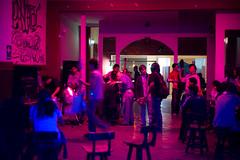 Concert anticapitaliste, Lima, Pérou