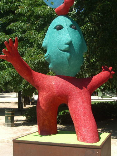 Bizarre Monster Art in Madrid