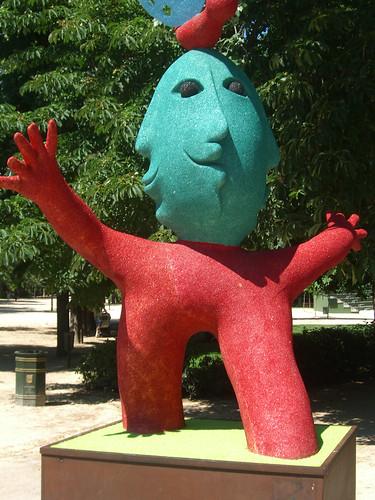 Bizarre Monster Art in Madrid