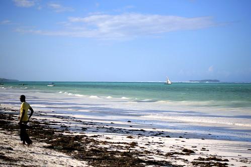 Matemwe coastline
