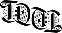 """""""TDM"""" Ambigram"""